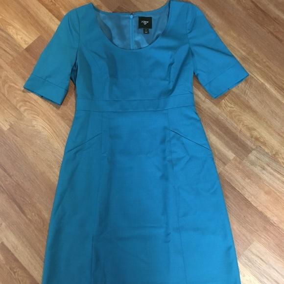 J. Crew Dresses & Skirts - J. Crew *Teal* Suiting Dress